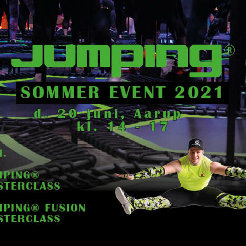 Jumping Sommer Event d. 20/6 kl. 14.00 – Aarup